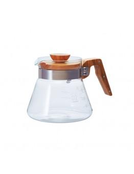 Hario V60 02 Kahve Servis Sürahisi Olive Wood (600 ml)
