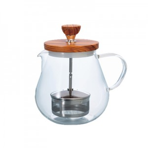 "Hario Pull-up Tea Maker ""Teaor Wood"" 700 ml"